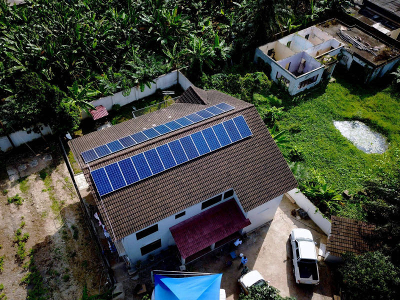 10 kW net-metering | 1 day, SGS Investments, office , Ghana
